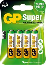 GP Super Alkaline AA Mignon penlite, blister 4