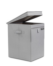 Brabantia Stapelbare wasbox 35 liter (grijs)