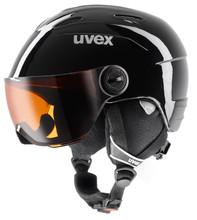 Uvex Junior Visor Black (54 - 56 cm)