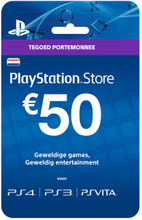 Sony PlayStation Network Voucher Card 50 Euro NL