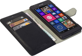 Krusell Boras Wallet Case Microsoft Lumia 950 Zwart