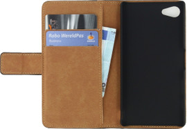 Mobilize Classic Book Wallet Case Sony Xperia Z5 Compact Zwa