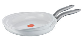 Tefal Ceramic Control White Induction Koekenpanset 24 + 28cm