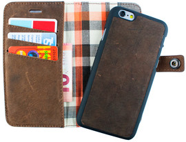 Imoshion Moyland 2 in 1 Wallet Case Apple iPhone 6/6s Bruin
