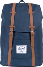 Herschel Retreat Navy/Tan PU Synthetic Leather