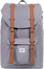 Herschel Little America Mid-Volume Grey/Tan Leather