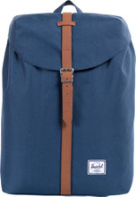 Herschel Post Mid-Volume Navy/Tan Synthetic Leather