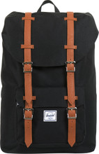 Herschel Little America Mid-Volume Black/Tan Synthetic Leath