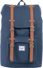 Herschel Little America Mid-Volume Navy/Tan Leather