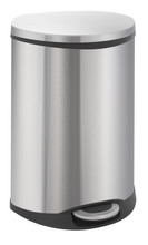 EKO Shell Recycling Bin 22 + 22 Liter Mat RVS
