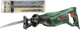 Bosch PSA 700 E (+ 4 zaagbladen) Reciprozaag