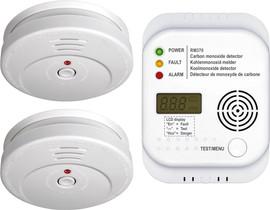 Smartwares FSSCO-15 Brandbeveiligingsset
