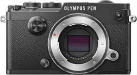 Olympus PEN-F Body Zwart
