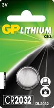 GP Lithium Knoopcel CR2032 (1 stuk)