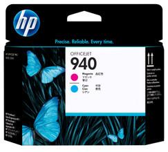 HP Printkop 940 Magenta/Cyan (rood/blauw) C4901A