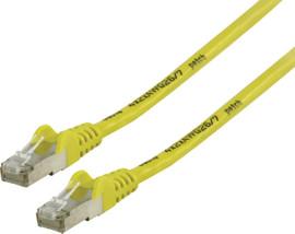 Valueline Netwerkkabel FTP CAT6 1 meter Geel