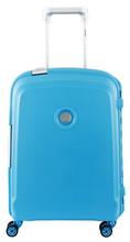 Delsey Belfort Plus Slim Cabin Size Trolley 55 cm Lichtblauw