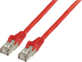 Valueline Netwerkkabel FTP CAT6 3 meter Rood