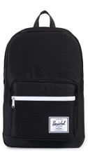 Herschel Pop Quiz Black/Black Synthetic Leather