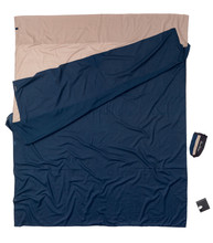 Cocoon Egyptian Cotton Travelsheet Double Khaki/Tuareg