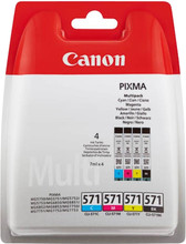 Canon CLI-571 4-Kleuren Pack (0386C005)