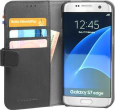 Decoded Leather Wallet Case Samsung Galaxy S7 Edge Zwart