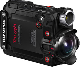Olympus Tough TG-Tracker Zwart