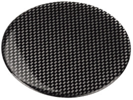 Hama Contact Adapterpad Zelfklevend Carbon 75mm