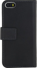 Mobilize Gelly Wallet Book Case Apple iPhone 5/5S/SE Zwart
