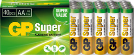 GP Super Alkaline 40-pack AA