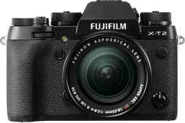 Fujifilm X-T2 Zwart + 18-55mm