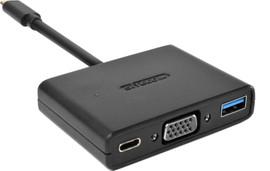 Sitecom CN-364 USB-C naar USB, VGA & USB-C