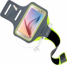 Mobiparts Comfort Fit Sportarmband Galaxy S6 Groen
