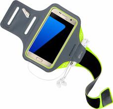 Mobiparts Comfort Fit Sportarmband Galaxy S7 Groen