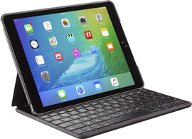Decoded iPad Pro 9.7 Leather Bluetooth Keyboard Case Zwart