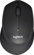 Logitech M330 Silent Draadloze Muis Zwart