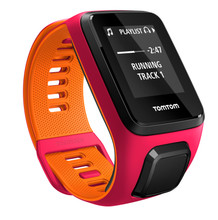 TomTom Runner 3 Cardio + Music Dark Pink/Orange -S