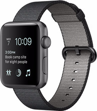 Apple Watch Series 2 42mm Spacegrijs Alumium/Zwart Nylon