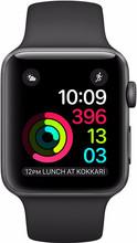 Apple Watch Series 2 42mm Spacegrijs Aluminium/Zwarte Sportb