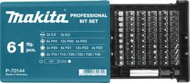 Makita 61-delige Bitset P-70144