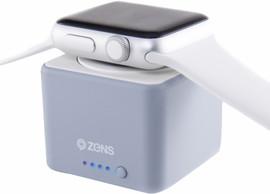 Zens Apple Watch Powerbank Grijs
