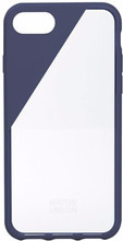 Native Union Clic Crystal iPhone 7/8 Blauw