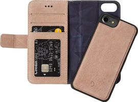 Decoded Leather 2-in-1 Wallet Case iPhone 6/6s/7/8 Rose Gold