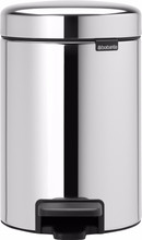 Brabantia NewIcon Pedaalemmer 3 Liter RVS