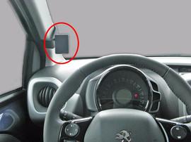 Brodit ProClip Peugeot 108/Citroen C1/Toyota Aygo 2014-