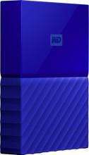 WD My Passport 4 TB Blauw