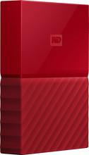 WD My Passport 4 TB Rood