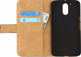 Mobilize Classic Wallet Book Case Moto G4/G4 Plus Zwart