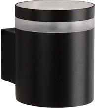 Lucide Basco-LED Wandlamp Zwart