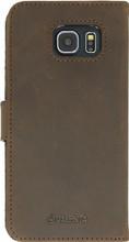 Valenta Booklet Raw Vintage Galaxy S6 Bruin
